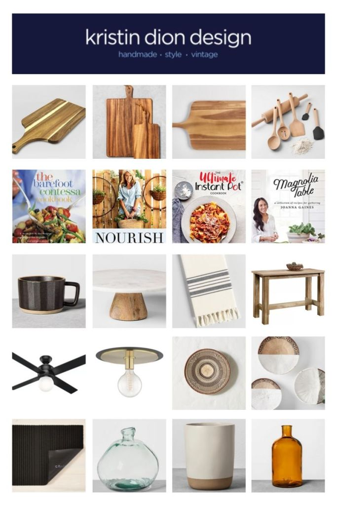 Kitchen Styling Guide Collage | Kristin Dion Design