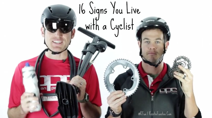16 Signs You Live with a Cyclist