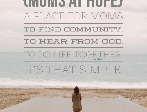 {moms at hope}