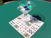 Centerpieces - Poker Themed Party