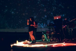 Letters from Pluto: Live in Space! - a live concert and laser show that took place in Edmonton, Canada in November 2016