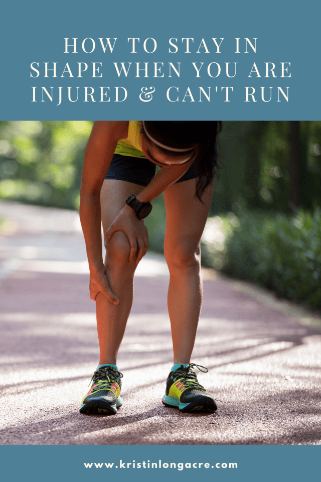 How to Stay in Shape When You Are Injured & Can't Run