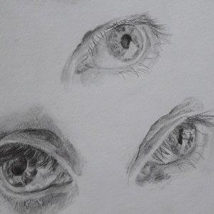 Eyes - pencil