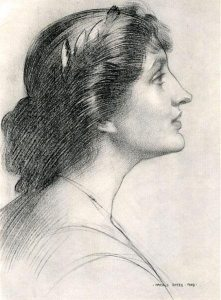 A drawing by Harold Speed