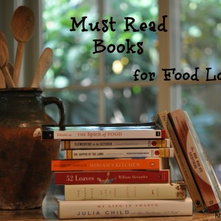 Must Read Books for Food Lovers