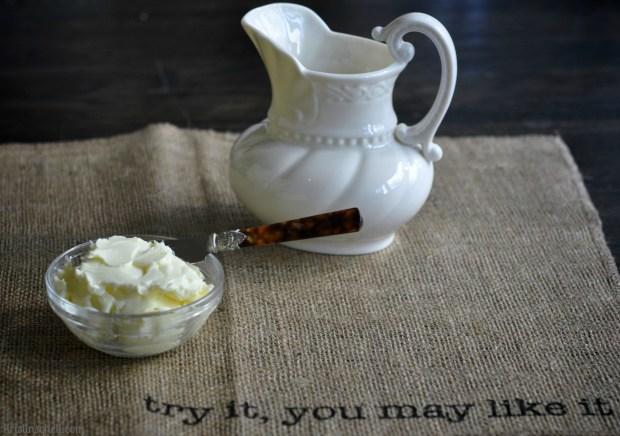 Homemade Butter WM