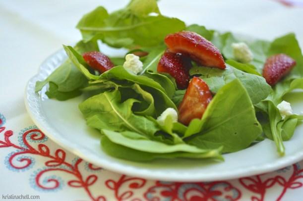 Arugula Strawberry Salad WM