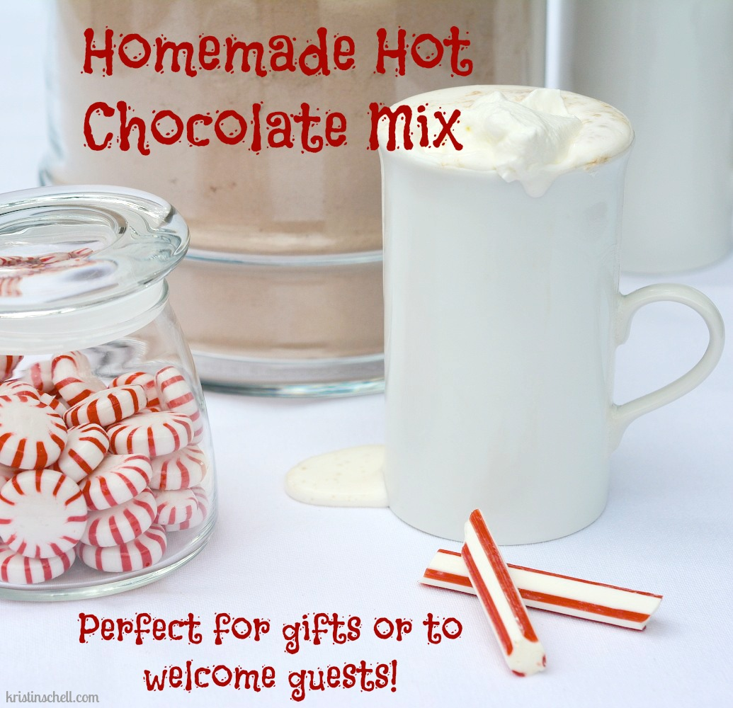 Making hot chocolate for a crowd - Homemade Hot Chocolate Mix For A Crowd