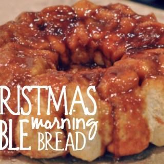Christmas Morning Bubble Bread