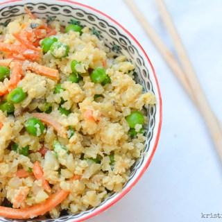 Stir Fry Cauliflower Rice