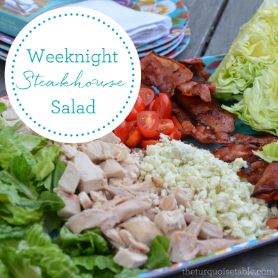 Weeknight Steakhouse Salad
