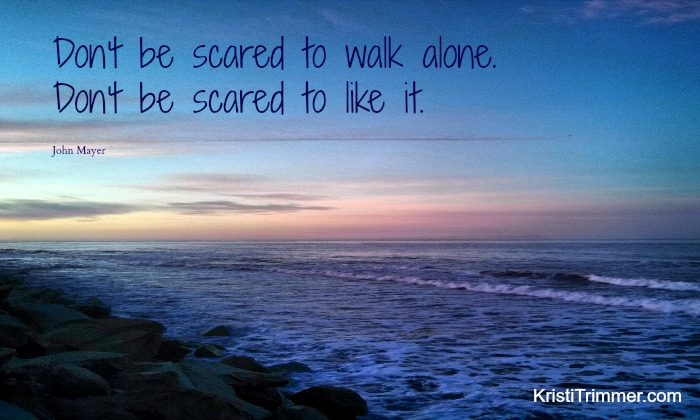 Dont Be Scared to Walk Alone - feature