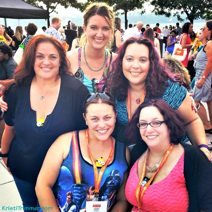 7-18-15 BlogHer Gang at Cheeseburgher