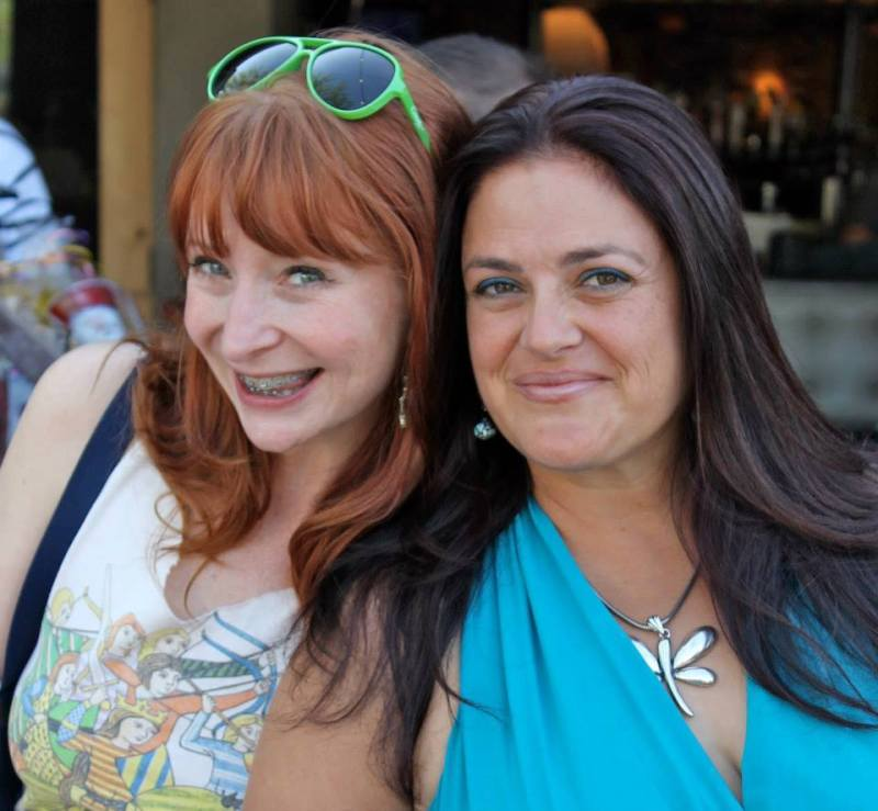 Lisa and I - 40th Bday