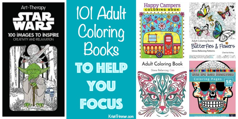 101 Coloring Books to Help You Focus FB