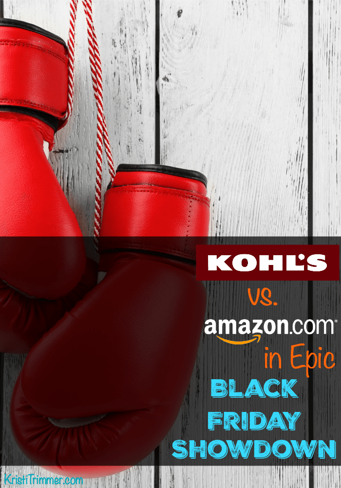 Kohls vs Amazon