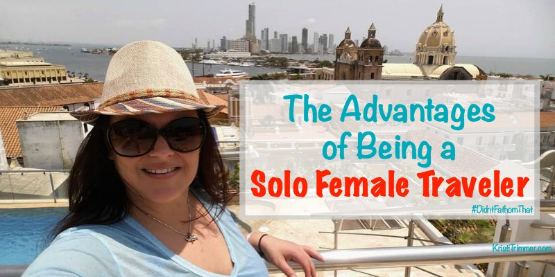 advantages of traveling solo