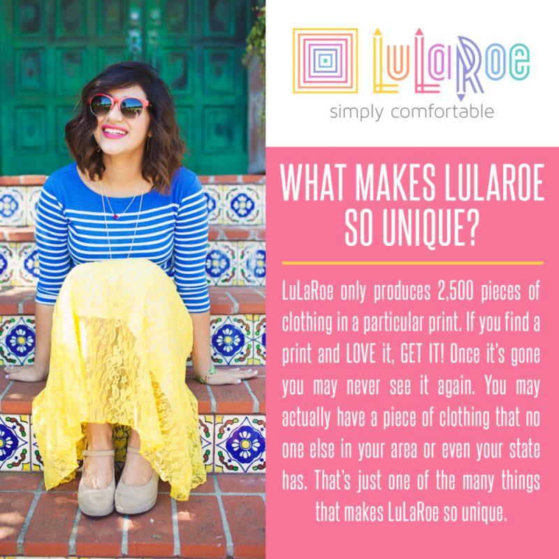 What makes Lularoe unique