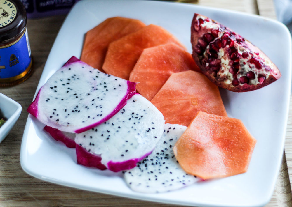 Dragon Fruit, Papaya & Pomegranate Yogurt Cup-2