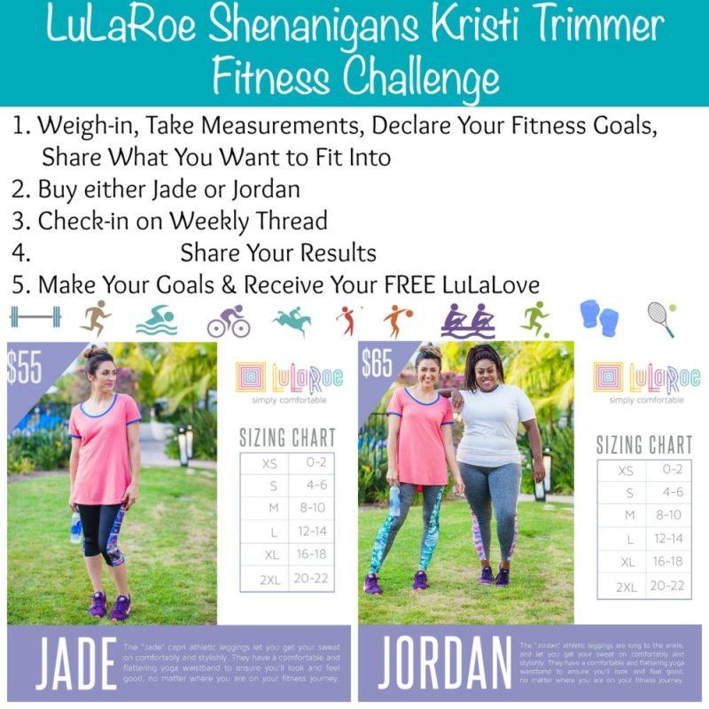 Lularoe Fitness Challenge