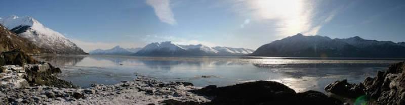 Beluga Point, Alaska
