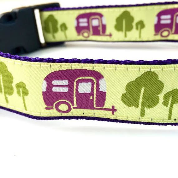 Camping Trailer Puppy Collar