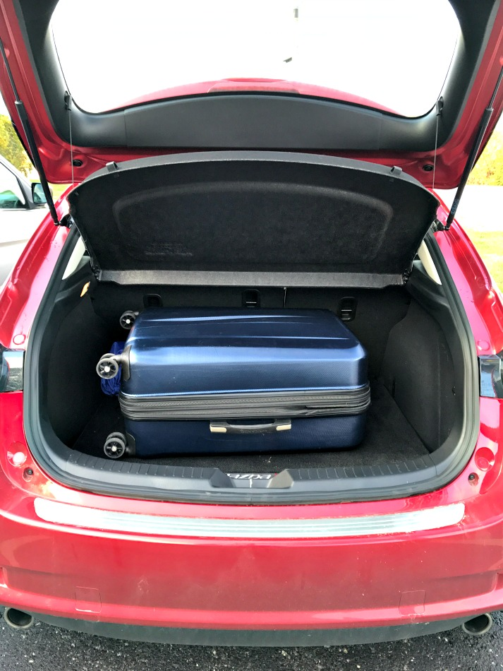 Mazda3 Grand Touring Trunk Space
