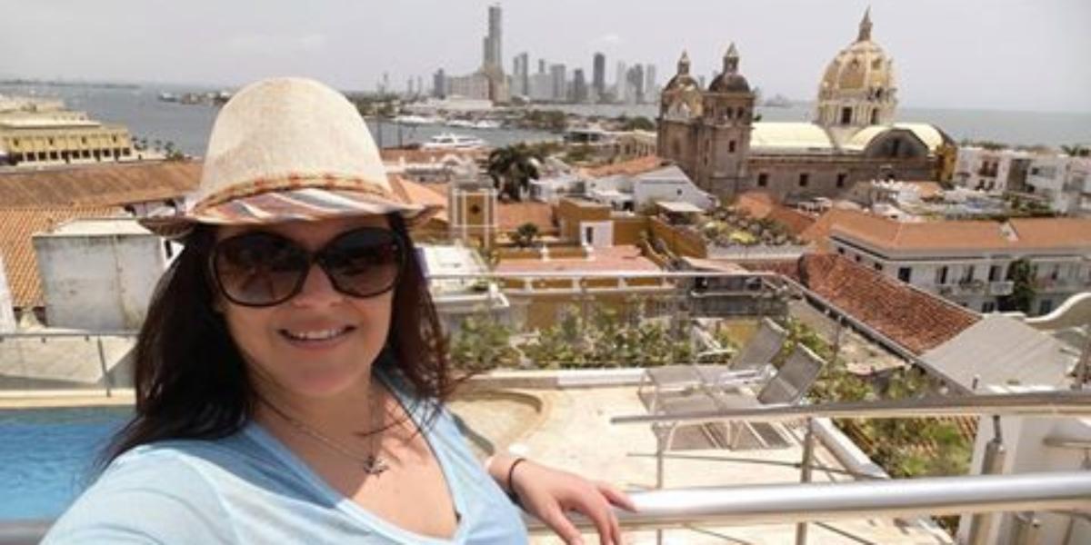 Kristi in Colombia