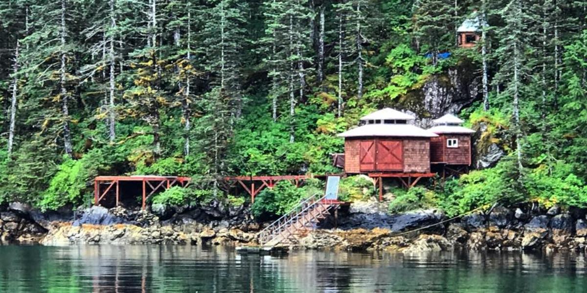 Yurt in Seward Alaska