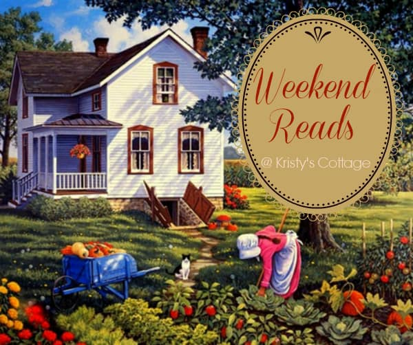 Weekend Reads @ Little Natural Cottage