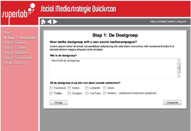 Social Mediastrategie Quickscan