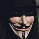 Guy Fawkes - masker