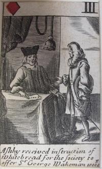 Popish plot playing card