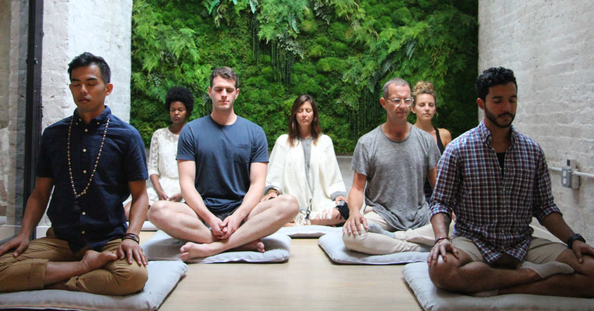 In person meditation