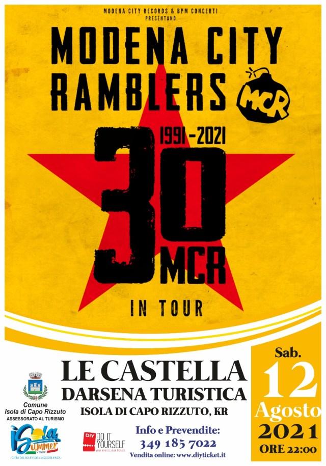 Isola Capo Rizzuto, stagione estiva, si entra nel vivo con i Modena City Ramblers e Massimo Ranieri