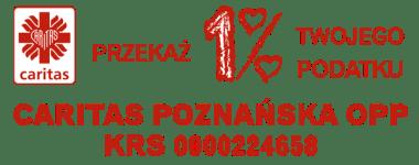 caritas poznańska 1 procent