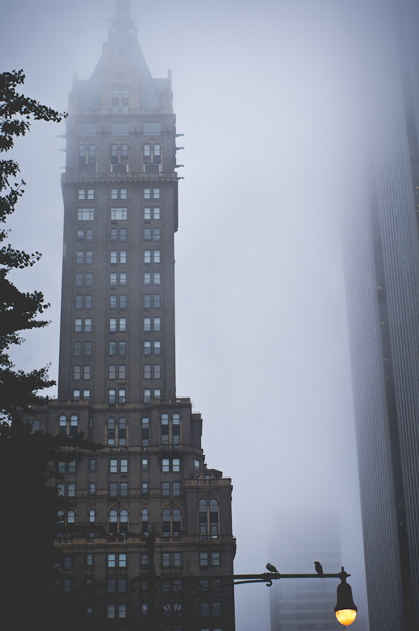 New York im Nebel