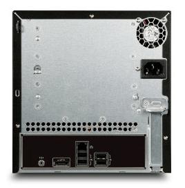 Acer H341 Rückseite