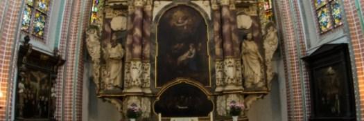 Altar St. Petri Kirche Buxtehude