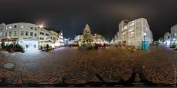 Panorama Buxtehuder Weihnachtsmarkt