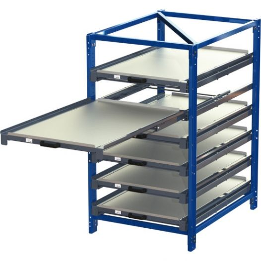 compact pull out rack 100