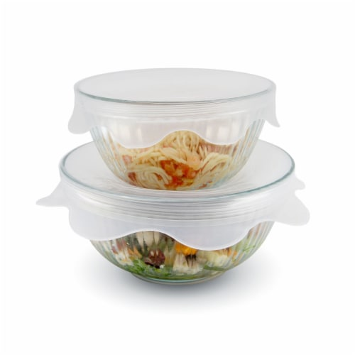 grand fusion vented microwave food covers storage wraps 2 pack each