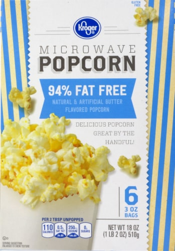 smith s food and drug kroger 94 fat free microwave popcorn 6 ct 3 oz