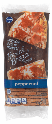 fry s food stores kroger microwave in minutes pepperoni french bread pizza 5 oz