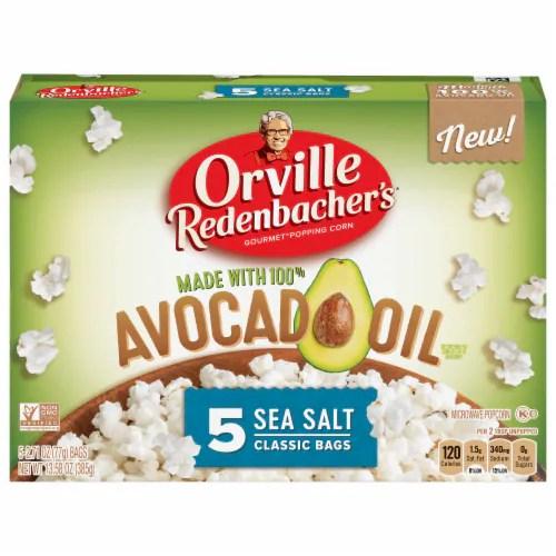 kroger orville redenbacher s avocado oil sea salt microwave popcorn 5 ct 2 71 oz