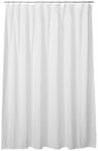 fred meyer everyday living microfiber shower curtain liner white 70 x 72 in