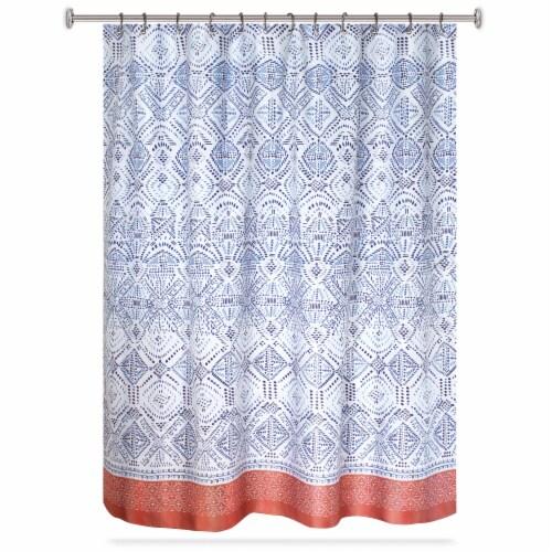 hd designs fabric shower curtain