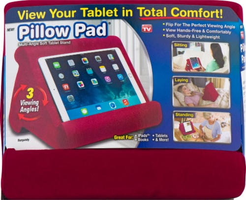 fry s food stores pillow pad multi angle soft tablet stand assorted 1 ct