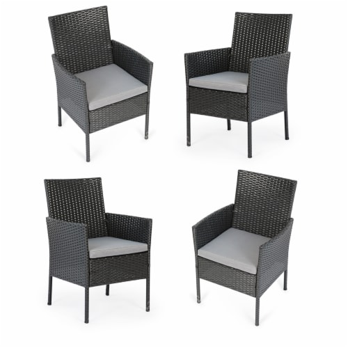 kumo set of 4 patio chairs outdoor