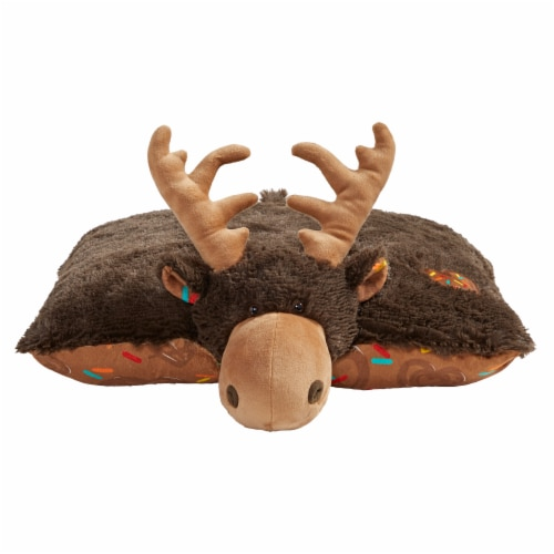 kroger pillow pets sweet chocolate scented moose plush toy 1 ct